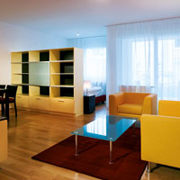 Enjoy all the comforts of luxury hotel services with space for living the way you want to at Boarding House OrchideenPark's beautiful apartments in Vienna