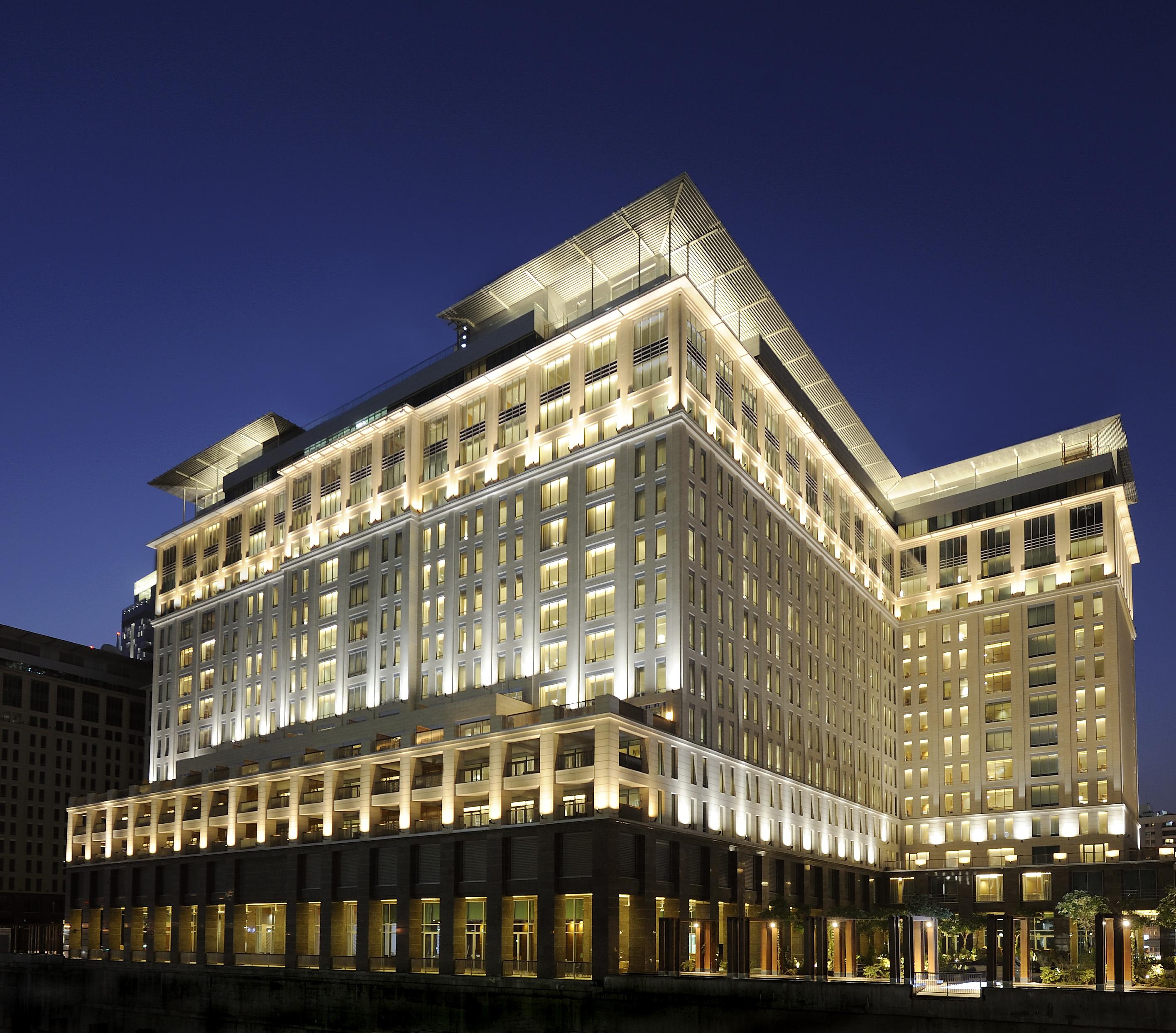 Ritz-Carlton, DIFC Exterior