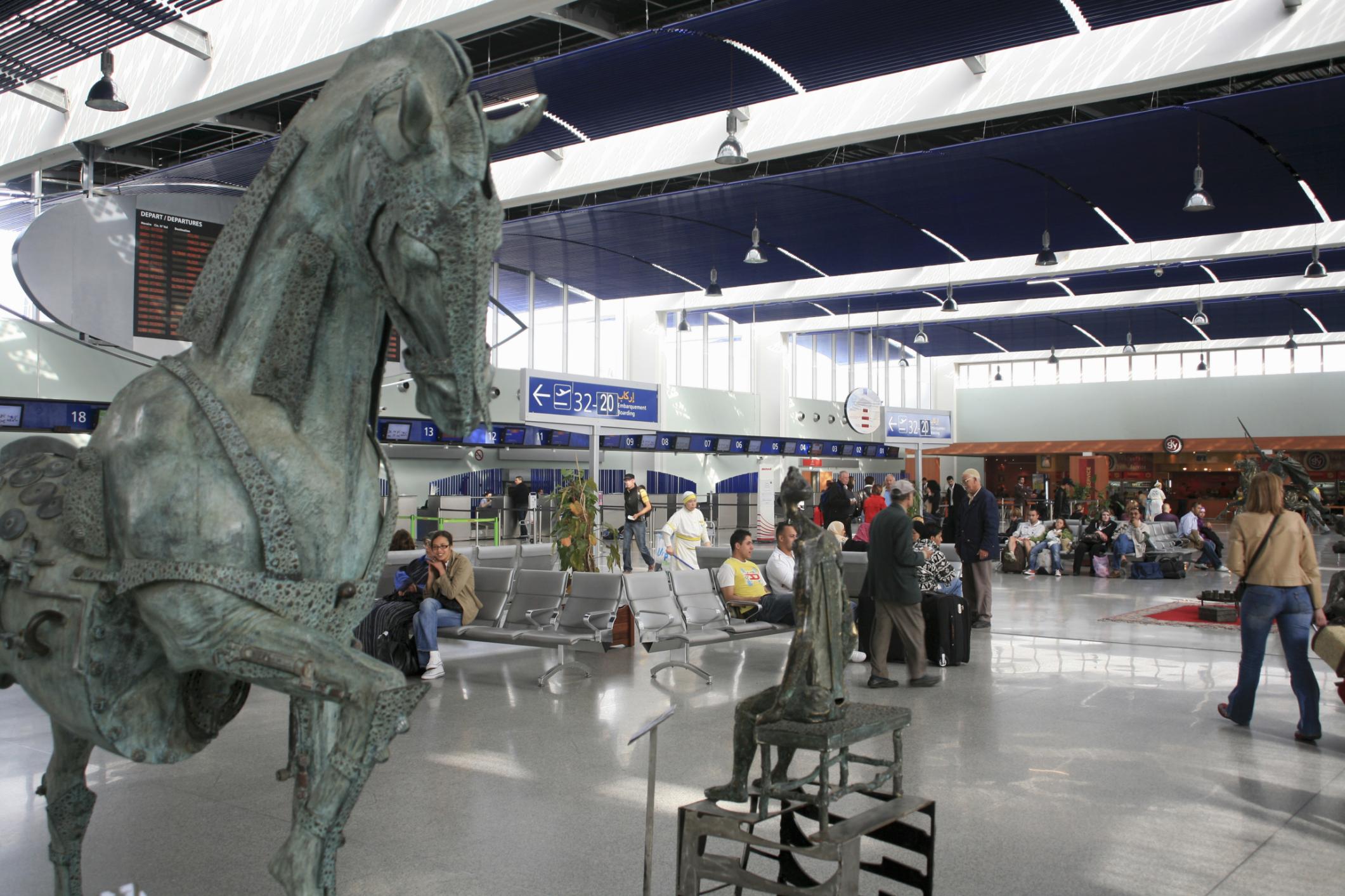 Casablanca Mohammad V Airport