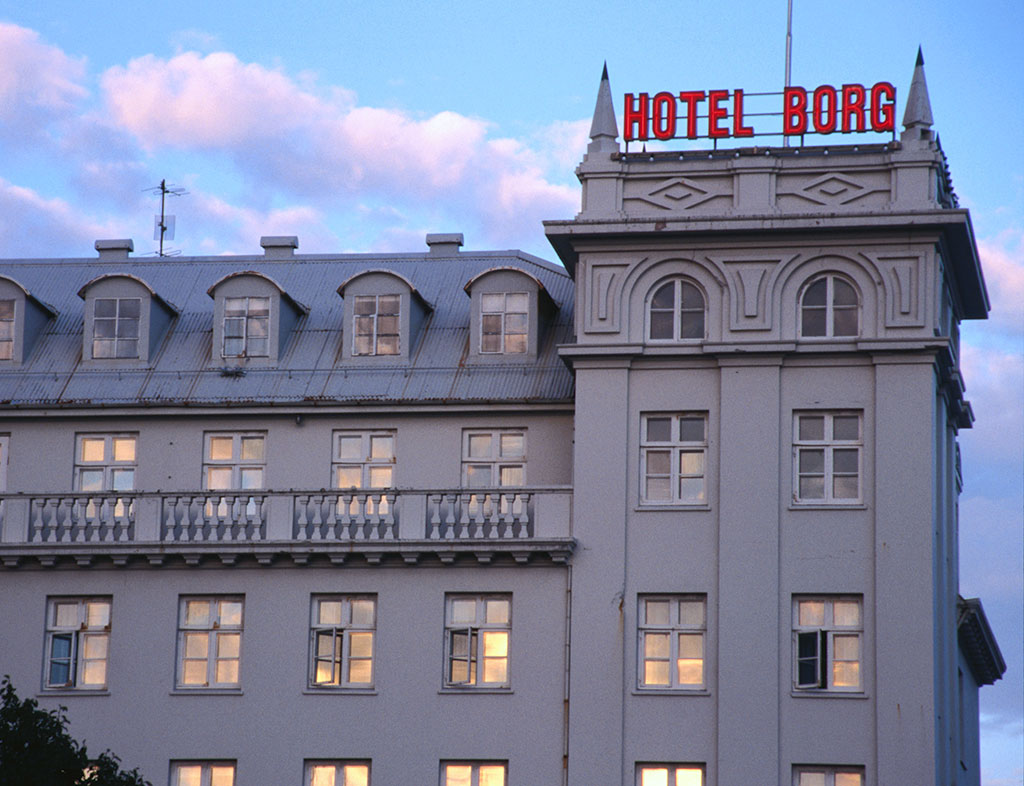 The Hilton-owned Hotel Borg