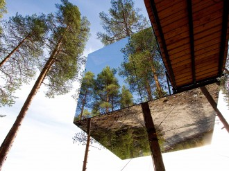 Hotels, however luxurious, can be isolating. In the forests and gorges of Scandinavia, resourceful lodgings bring nature within, reconnecting guests with their surroundings