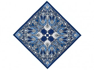 Wrap-up as the nights draw in with this stylish scarf