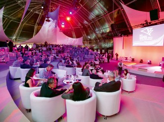 Abu Dhabi's du Forum provides a versatile events space for any occasion