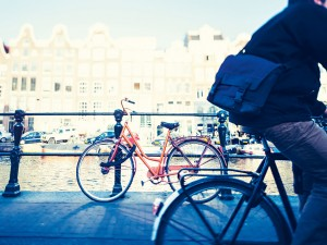 Amsterdam was ranked the most bike-friendly city for two years running by Virgin Travel