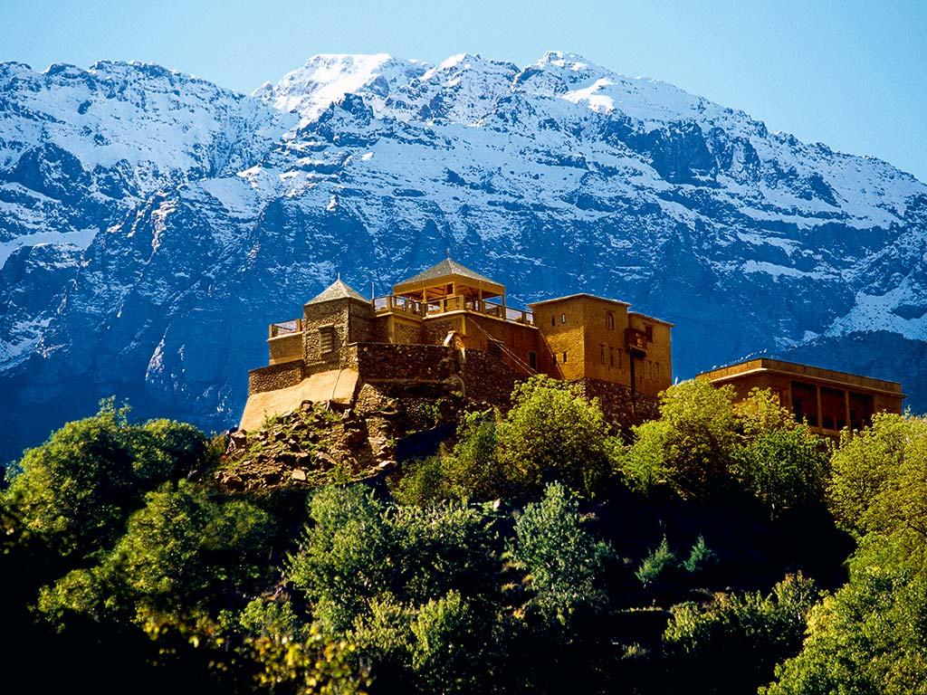 Morocco's Kasbah du Toubkal hotel