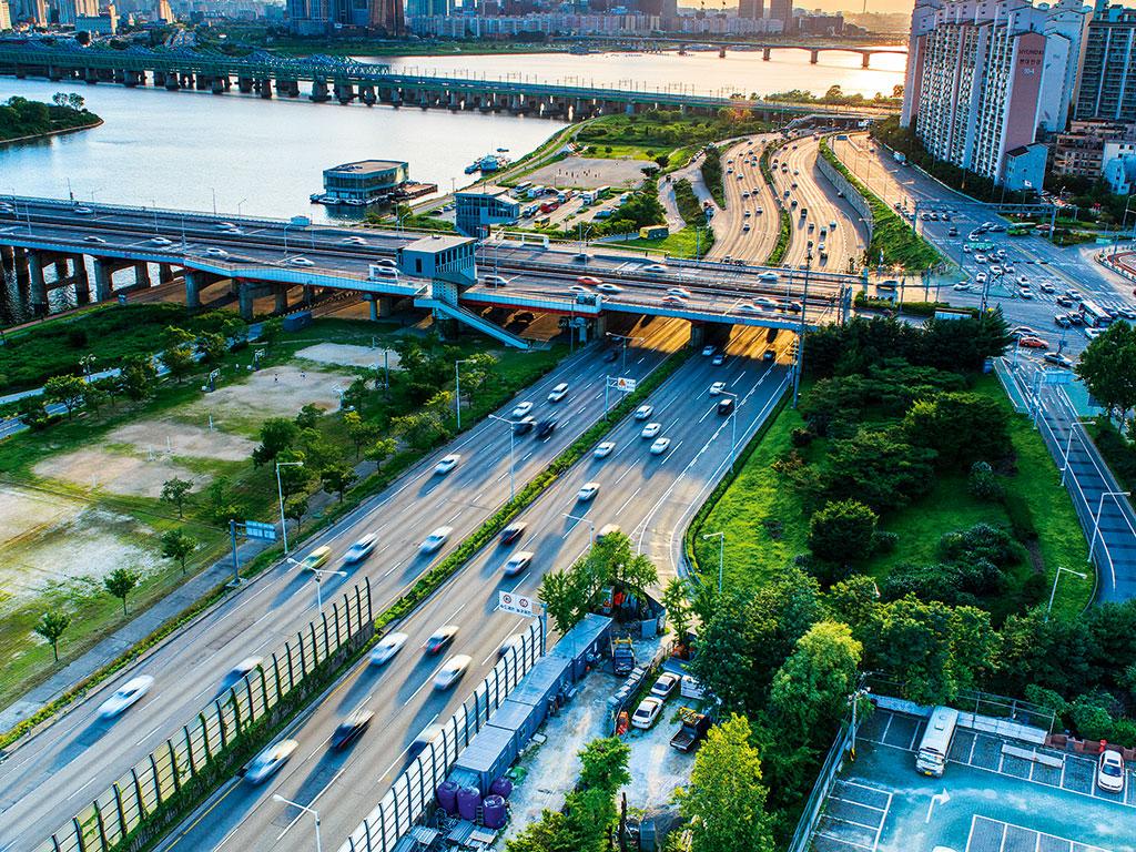 Songdo's impressive infrastructure