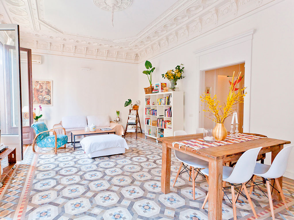 Sunny Modernist House, Barcelona Spain is just one of the attractive locations you can stay at with Airbnb