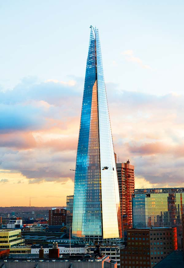 The Shard building London