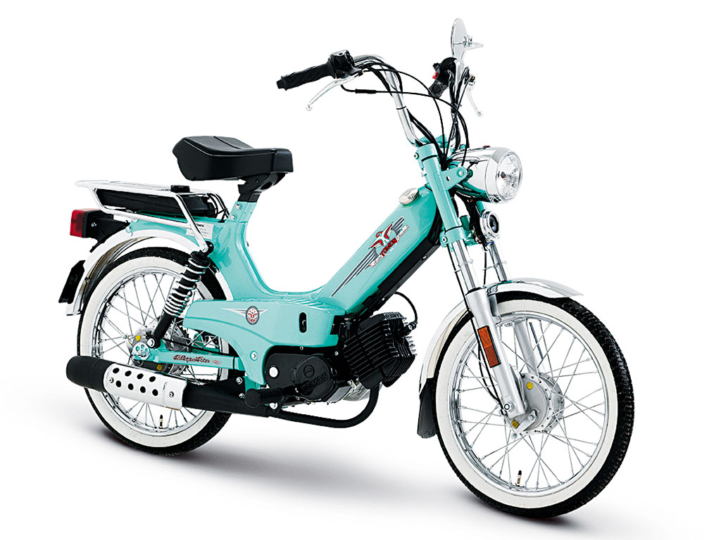 The real teal: Tomos Classic XL