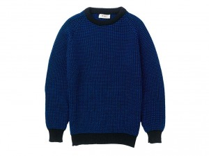 Knitted crewneck sweater, YMC, £235