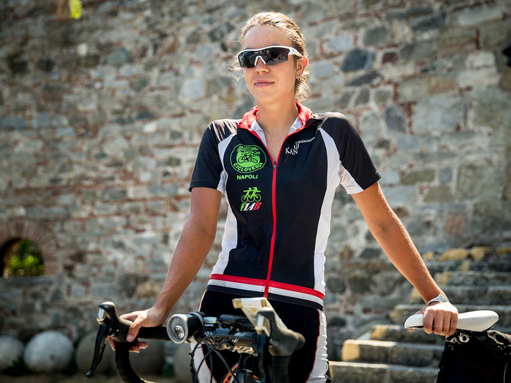 2d46292824e Guinness World Record holder for the Fastest Circumnavigation of the World  by Bicycle, Juliana Buhring