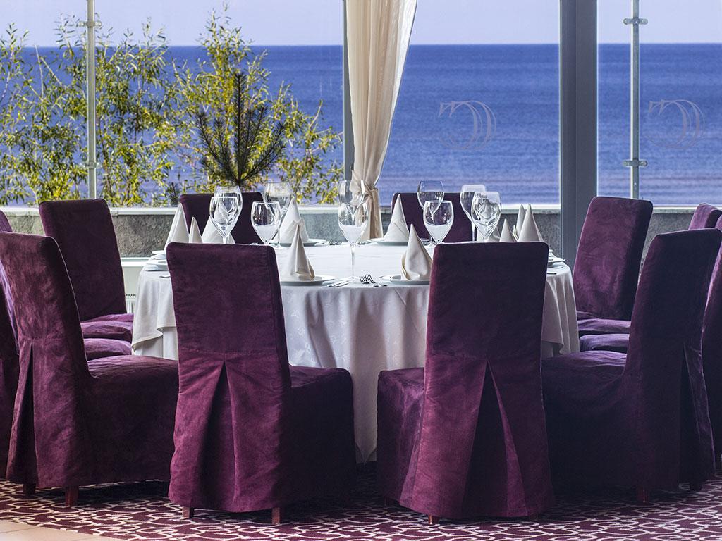 The Caviar Club restaurant at the Baltic Beach Hotel