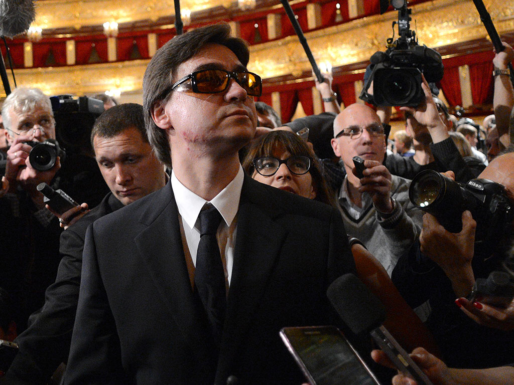 Artistic Director Sergei Fillin was blinded in an acid attack perpetrated by a lead Bolshoi dancer