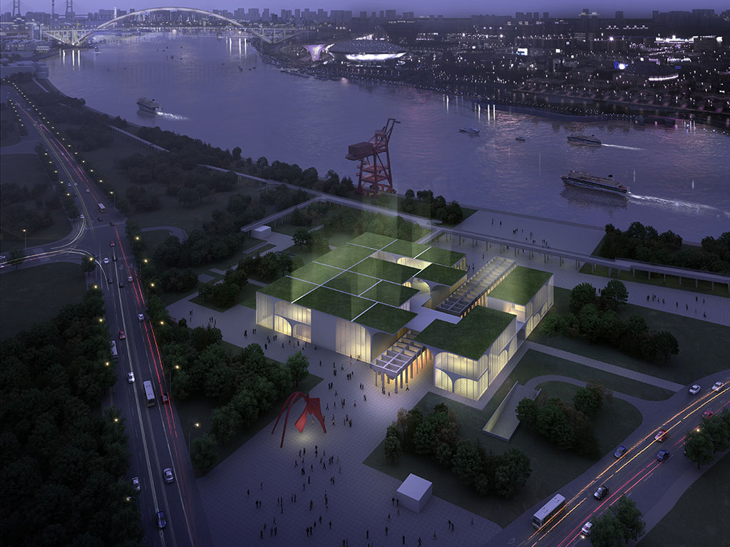 The West Bund building will give The Long Museum even more space for temporary exhibitions