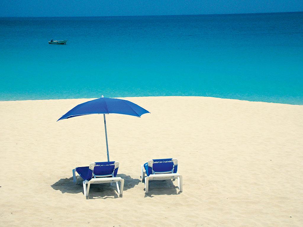 Beach On Anguilla Island