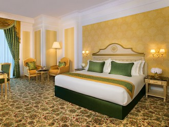 Unusual but beautiful, the Royal Rose Hotel is an opulent French palace in Abu Dhabi's business district and a five-star haven for corporate and leisure visitors
