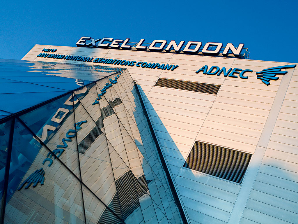 The exterior of ExCeL London: during the course of 2014, the venue will welcome its 20 millionth visitor
