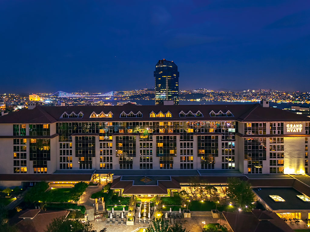 grand hyatt istanbul a taste of turkish luxury business