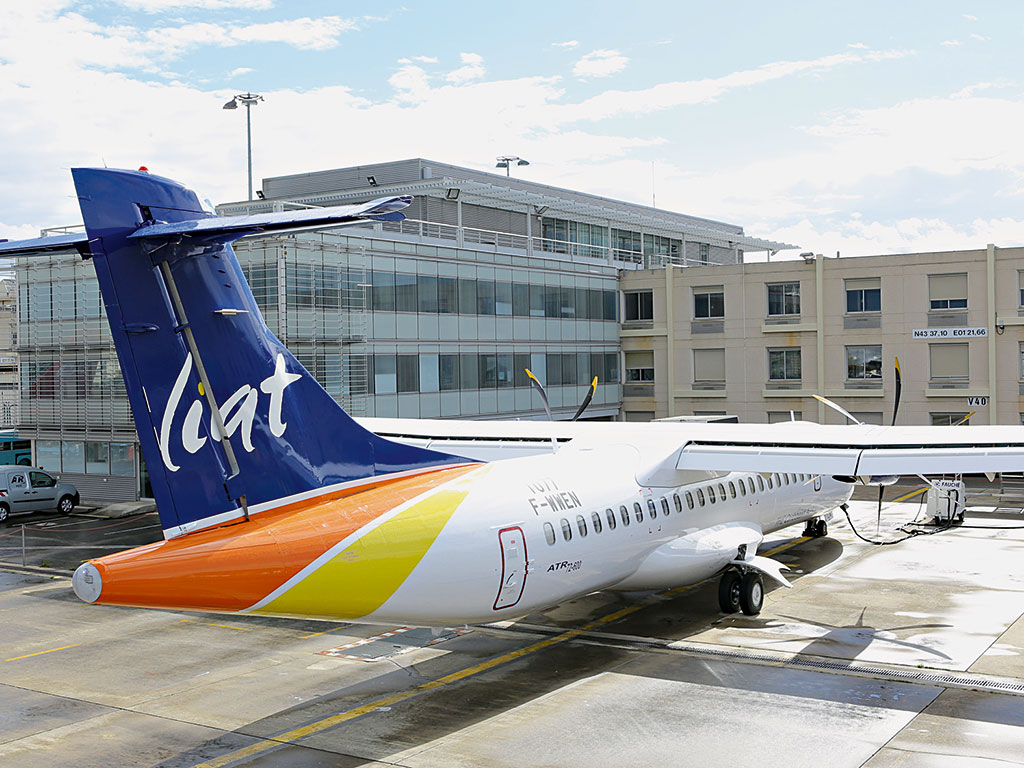 Flying high: Caribbean airline LIAT has been operating for nearly 58 years and is the only regional airline to have gone the full distance intact