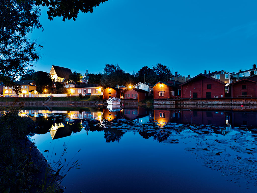 The Art Factory offers visitors a chance to experience Finland's beautiful landscapes