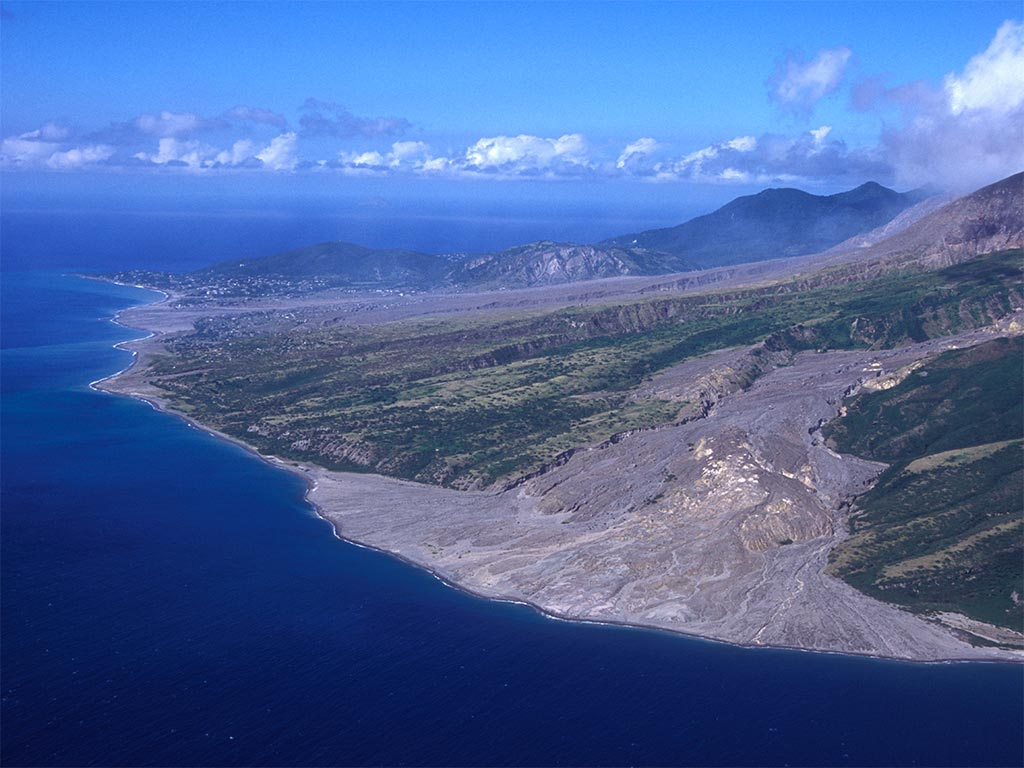 The Pompeii of the Caribbean: the Soufriére Hills volcano destroyed Montserrat in 1995, but recent infrastructure investment has given the island a new lease of life