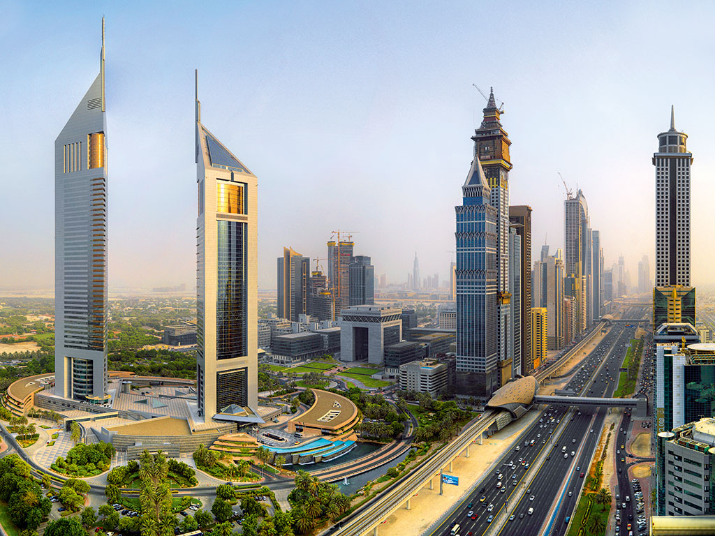 Dubai has many splendid hotels with stunning rooms and conference facilities