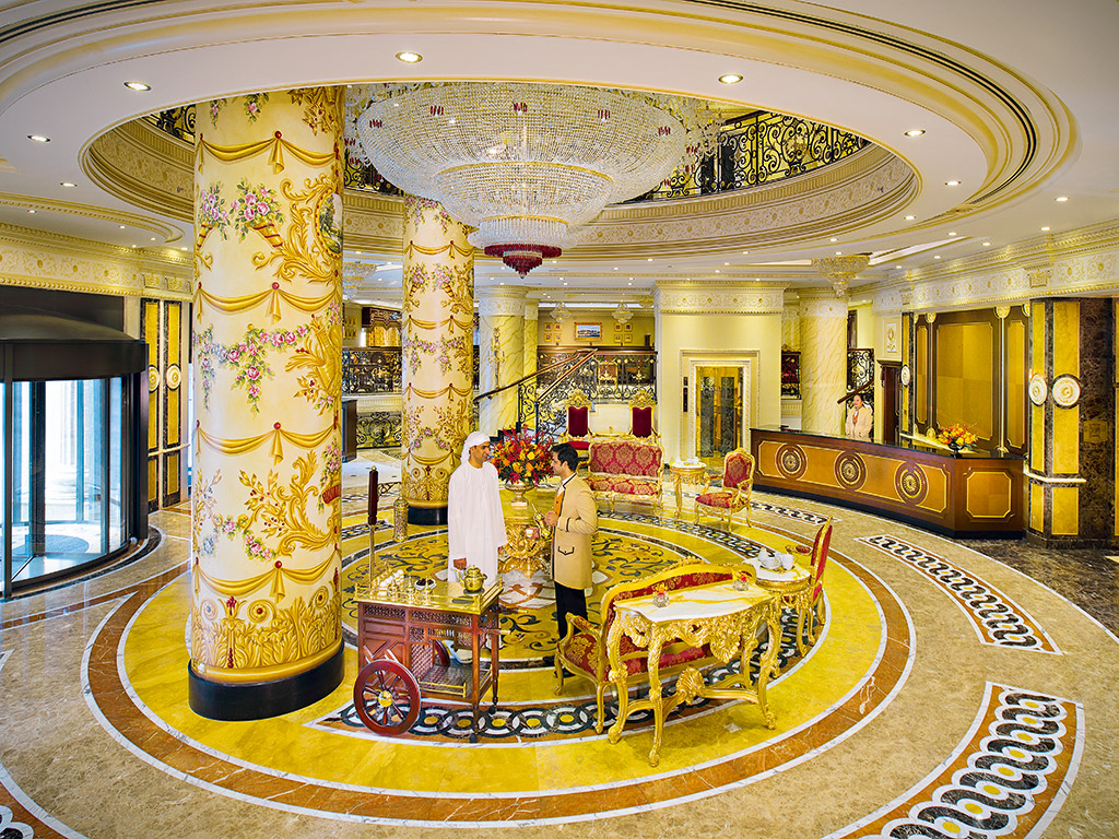 Lavish architecture stunning designs and first class customer service - Head To Abu Dhabi S Royal Rose Hotel For The Grandest Of