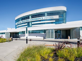 An attractive, environmentally friendly, hi-tech conference space in the heart of California – the South San Francisco Conference Centre has it all