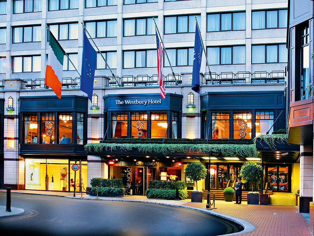 the westbury hotel firstclass luxury in ireland�s