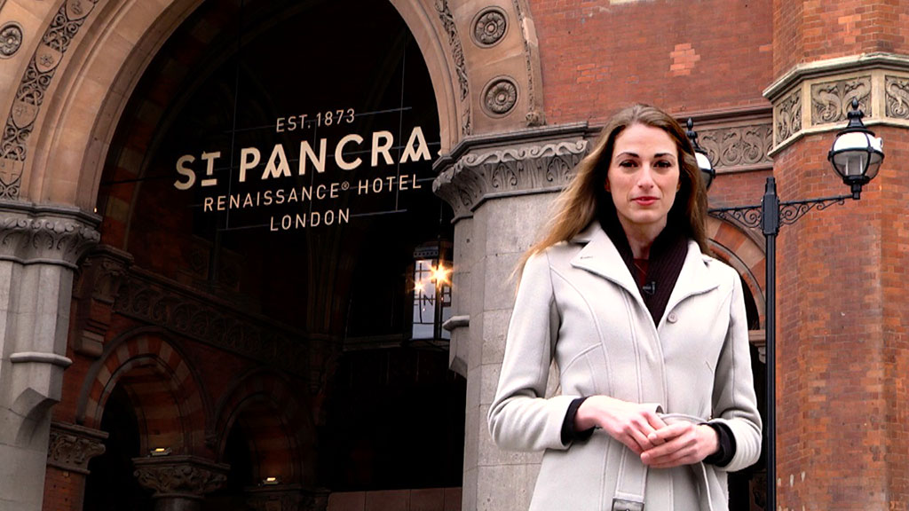 Business Destinations travels to St Pancras Renaissance Hotel, in the heart of London's King's Cross, to witness the architecture and decadent displays that have made it a world-class facility