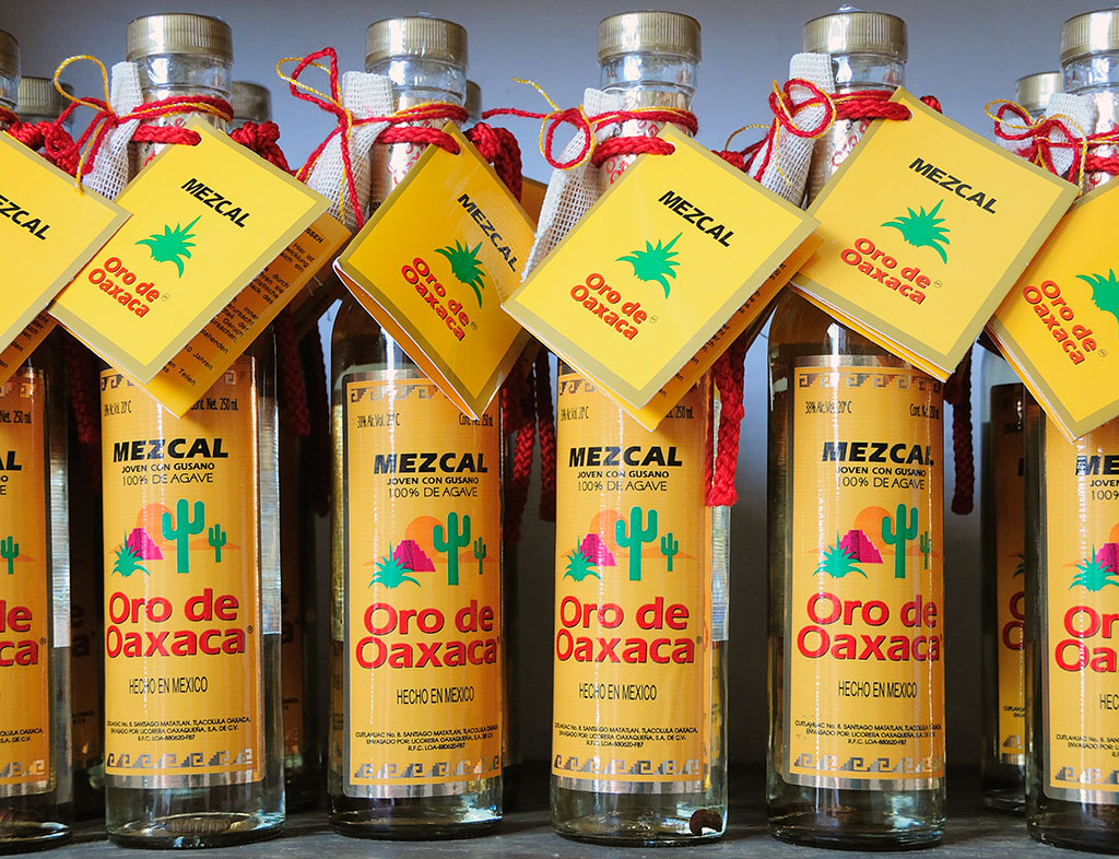 Mezcal-Bottles