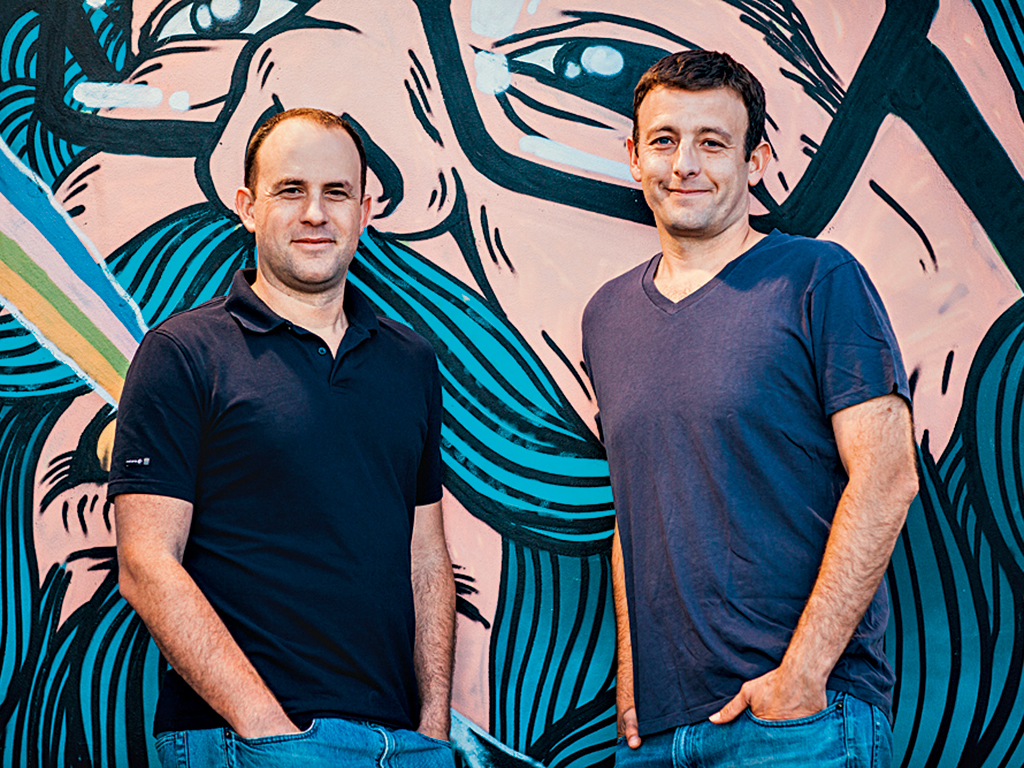 EatWith founders Guy Michlin and Shemer Schwarz. Image courtesy of EatWith