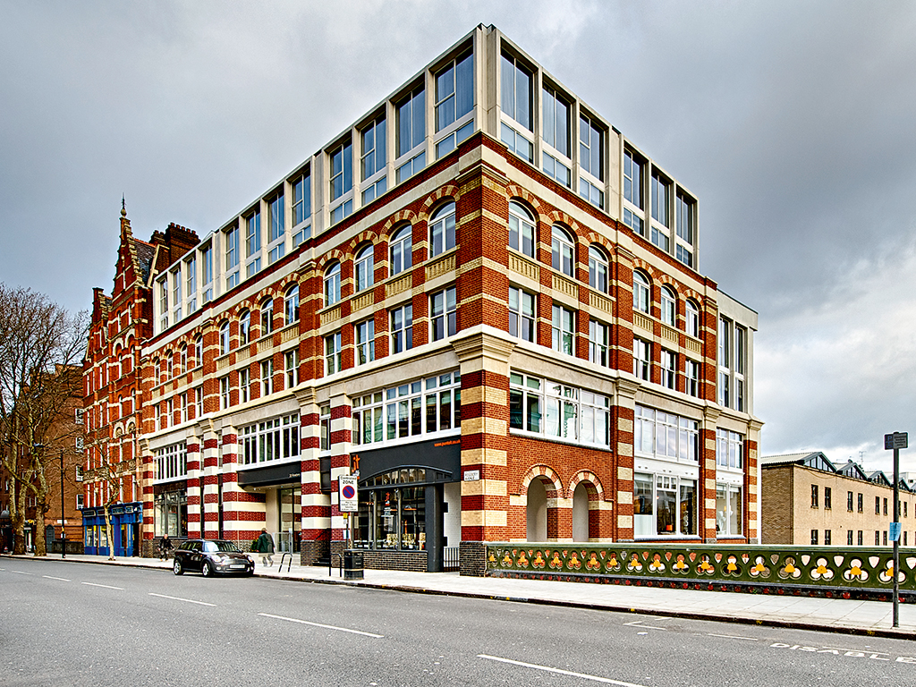 The historic exterior of The Rosebery in London's Clerkenwell, just one of the three luxurious aparthotels owned by Supercity Aparthotels