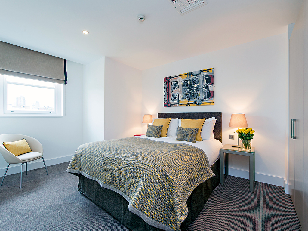 A one-bedroom suite at The Rosebery