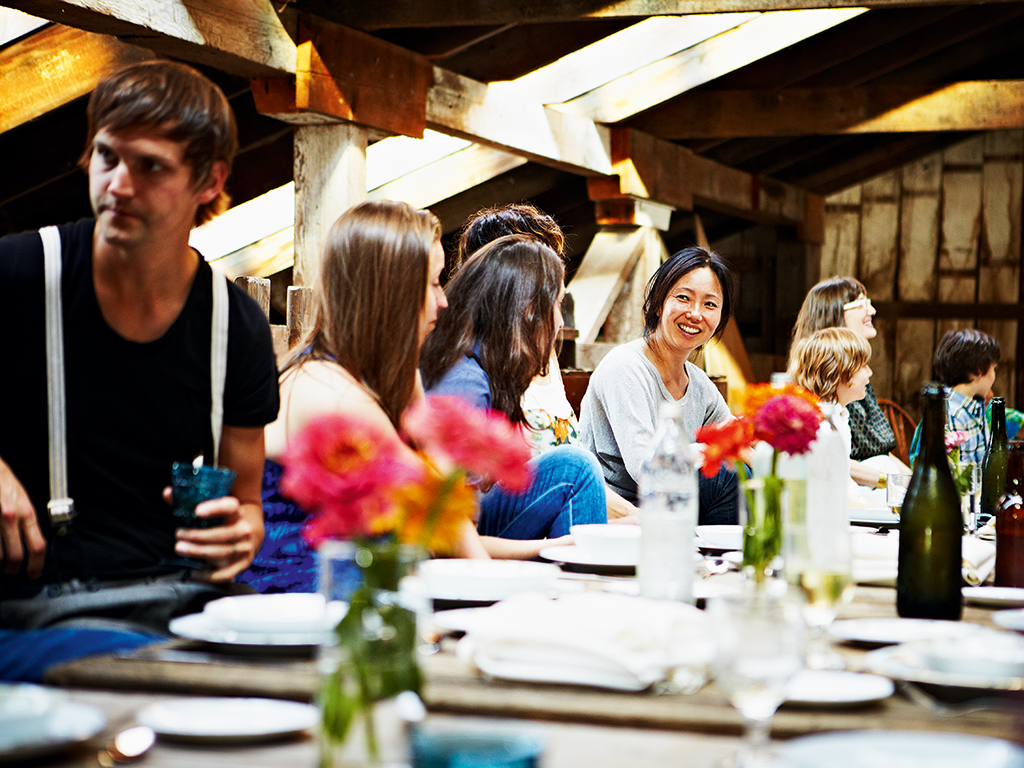 Social dining has become a craze worldwide, with keen cooks opening up their homes to feed strangers. Image courtesy of EatWith