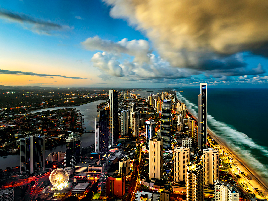 The idyllic Gold Coast is Australia's fastest-growing city. Around a quarter of the city's 500,000-strong population comes from overseas