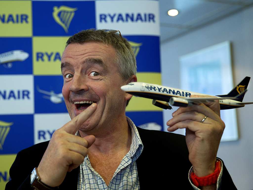 Ryanair's PR revamp of controversial CEO Michael O'Leary and leaning towards business flights have contributed significantly to its profit growth
