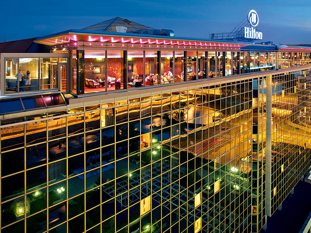 Hilton Prague boasts a modern exterior and an extremely central location