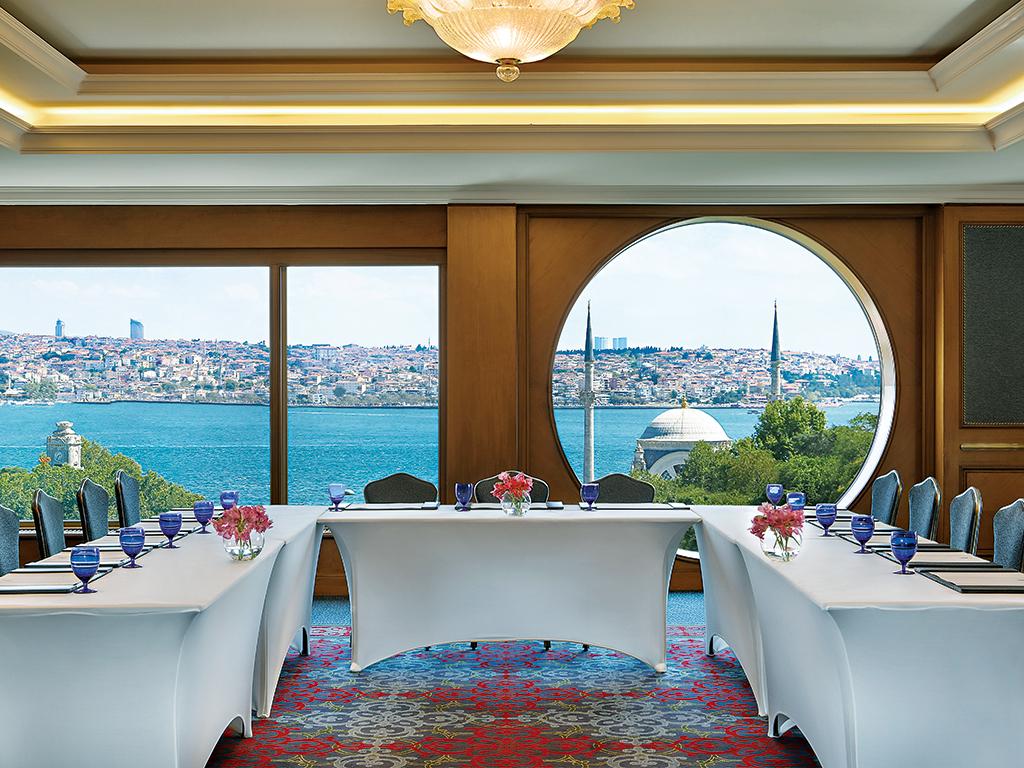 The hotel's Buyukada meeting room