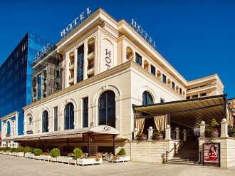 With a dedication to providing exceptional service in fine surroundings, the Swiss Diamond Hotel Prishtina has earned a reputation as Kosovo's best business hotel