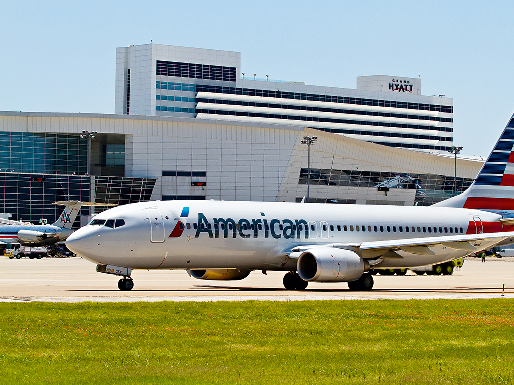 DFW Airport serves as the home of American Airlines