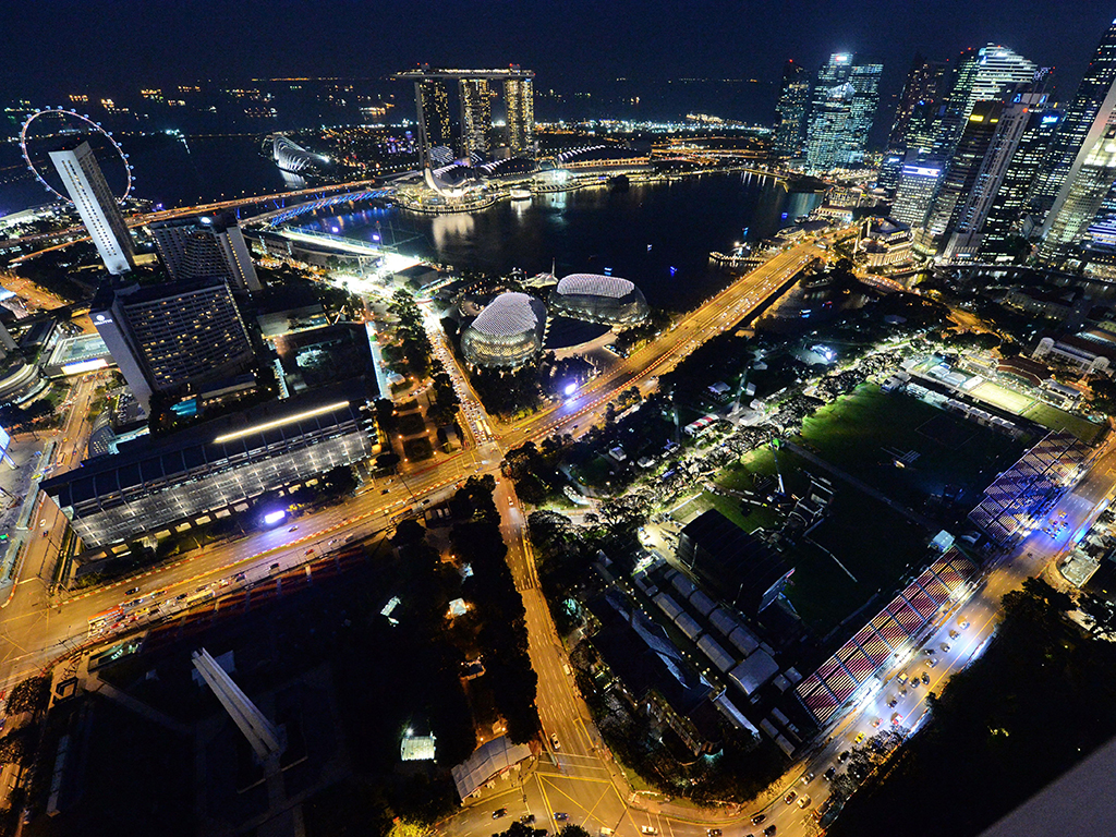 Scenes from the Singapore Grand Prix in 2013. The three-day event has attracted more than 250,000 international visitors over the past seven years