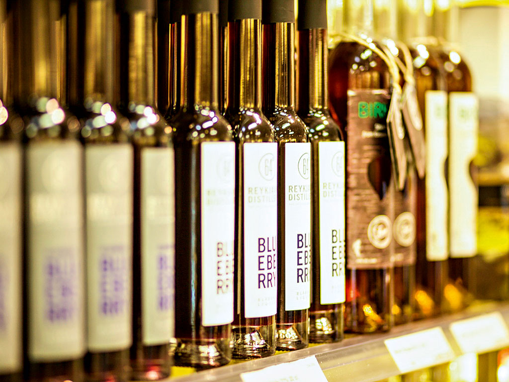Duty Free Iceland at Keflavik International Airport offers a wide range of exceptional Icelandic products to arriving and departing passengers alike