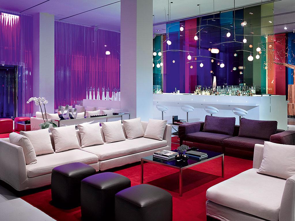 The Sky Lobby Bar at Meliá Barcelona Sky Hotel