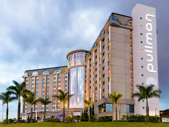 Hotel Pullman Sao Paulo International Airport – voted Best Business Hotel, Brazil in the 2015 Business Destinations Travel Awards – is the hotel of choice for businesspeople visiting the city