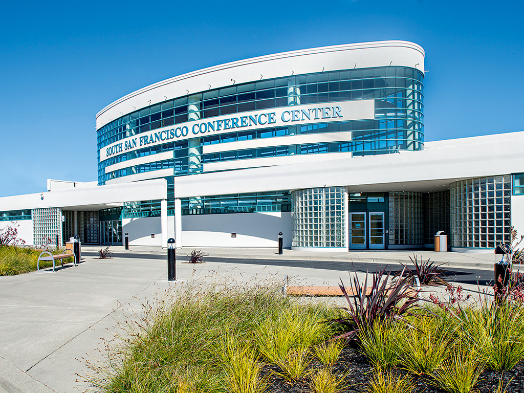 The South San Francisco Conference Centre offers world-class facilities and close proximity to the city's thriving core