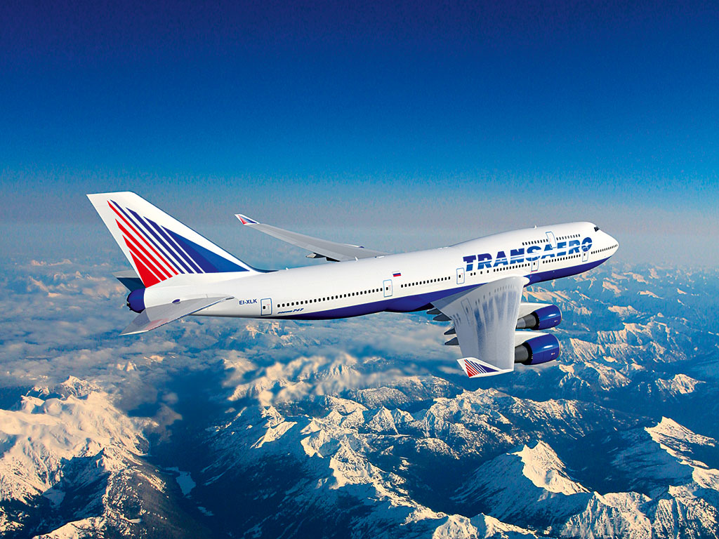 Transaero Airlines offers more than 200 routes across five continents