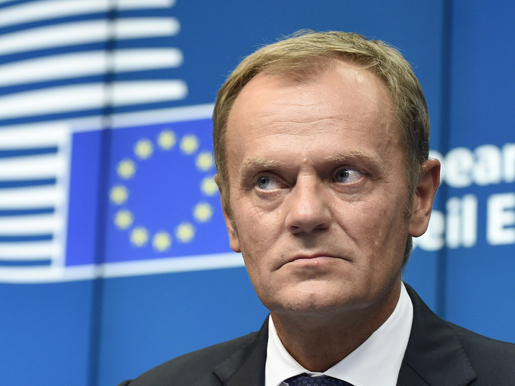 Donald Tusk, European Council President, who is keen to address what will happen if the UK stays in the EU