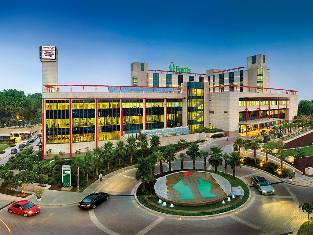 Fortis Memorial Hospital in Gurgaon is one of an increasing number of India's luxury hospitals