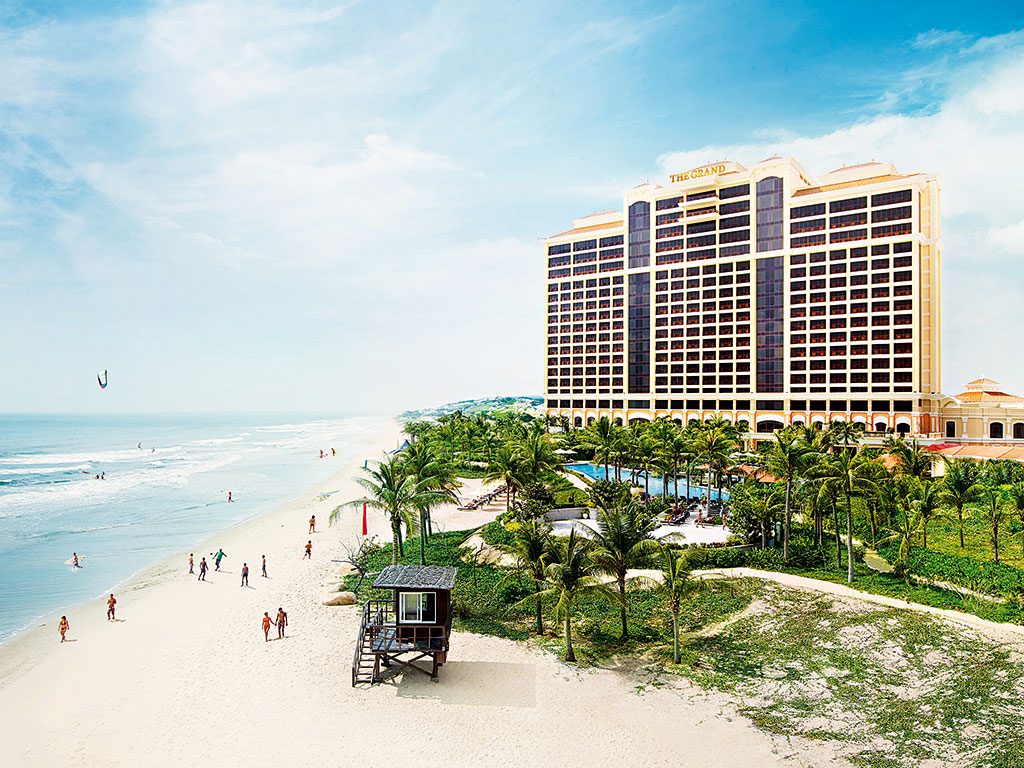 Ho Tram Resort Casino Vietnam offers views over the South China Sea, as well as 541 elegant rooms and nine bars and restaurants